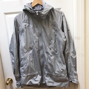 Lululemon Gray Rain Coat Jacket
